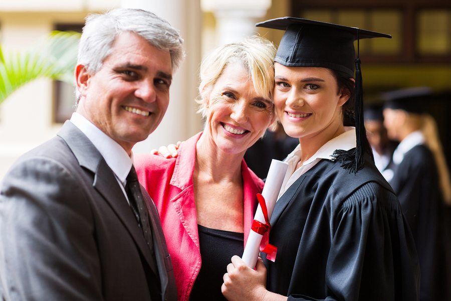 bigstock beautiful female college gradu 58953098 - Have You Cosigned Student Loans?