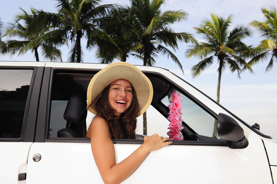 bigstock car rental happy woman in her 15610544 - Do You Really Need that Car Rental Insurance?